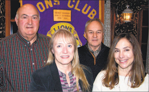 CSIU staff pose with Milton Lion's Club members