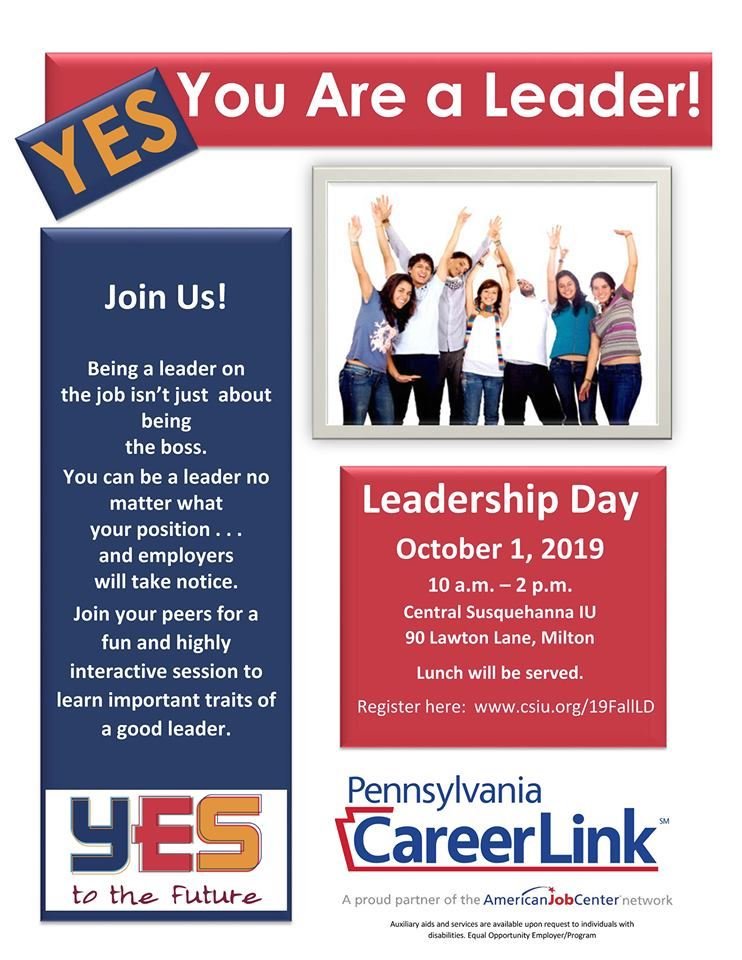 Leadership Day Flyer