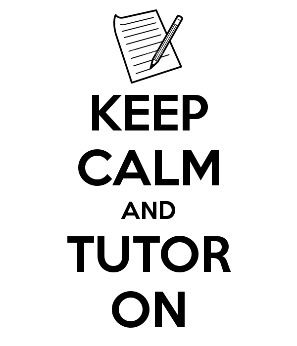 Keep Calm and Tutor On