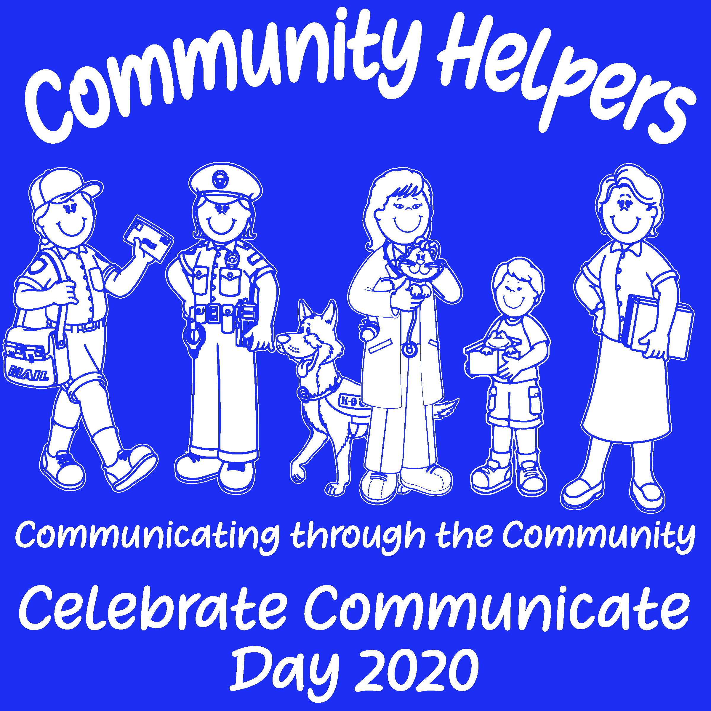 CC Day Logo: Communicating through the Community