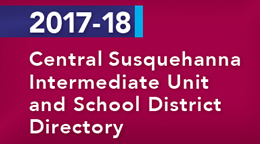 2017-18 CSIU and School District Directory Image Cover