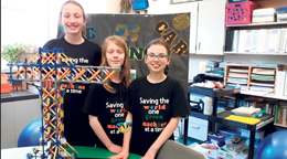Gr 4-5 K'Nex Challenge Winners from Liberty Valley Intermediate School